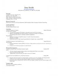 Computer Skills In Resume Sample by Resume Examples Science Resume Template Biology Sample Writing