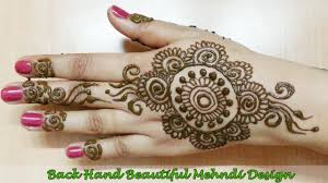 best back mehndi designs floral back mehndi design