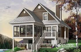 sloping and hillside designs from drummondhouseplans com