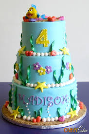 Ocean Cake Decorations Under The Sea Themed Cake Cmny Cakes