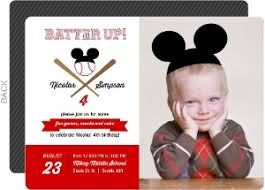 mouse birthday invitations
