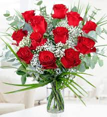 valentines roses 12 roses valentines day flowers 32 99 free chocolates