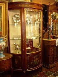 curio cabinet antique curio cabinets quarter sawn oak curved