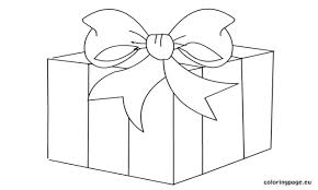 gift coloring page gift box clip art coloring page colorin