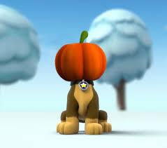 image paw patrol chase pumpkin head jpg paw patrol fanon wiki