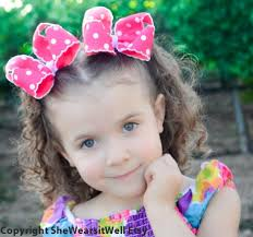 bows for babies think pink large hair bows for by shewearsitwell on zibbet