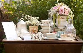 what do you put on a bridal shower registry vintage tea party bridal shower the party fetti