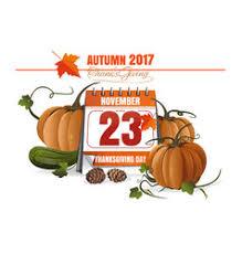 usa thanksgiving 2017 royalty free vector image