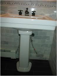 toto promenade pedestal bathroom sink correctly elysee magazine
