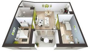 plan maison 50m2 a etage