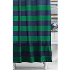 Fieldcrest Luxury Shower Curtain - fieldcrest luxury stripe shower curtain blue green curtain