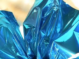 metallic gift wrap 10 blue mylar metallic gift wrap mirrorized sheets