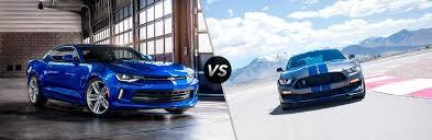 ford mustang chevy camaro 2017 chevy camaro vs 2017 ford mustang