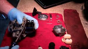 carburetor tear down and cleaning 2005 honda metropolitan chf50