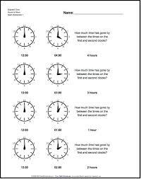 analog elapsed time start from full hours classroom pinterest