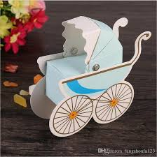 thick christmas wrapping paper wedding candy box stroller shape party wedding baby shower favor