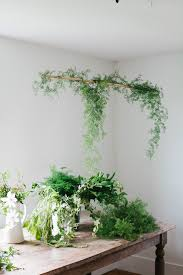 a daily something diy hanging centerpiece with greens u0026 spring