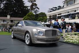 bentley car 2011 bentley mulsanne live at pebble beach concours d u0027elegance