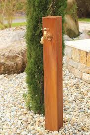 Ideen Aus Holz Fur Den Garten Garten Wasser Zapfstelle Cordon Aus Cortenstahl Hersteller