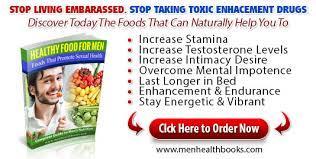 natural food for men u0027s health
