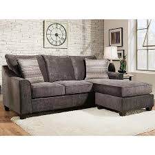 Charcoal Sectional Sofa American Furniture 2957 3482 Elizabeth Charcoal Sectional Sofa
