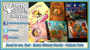 read to me some disney books frozen palace pets