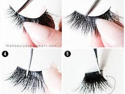 how to apply fake eyelashes false lashes hacks