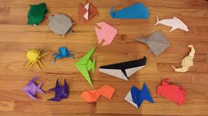 Origami Paper Works - chemknits origami sea creatures adventures of a knitter trying