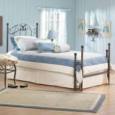 room luxury blue colour bedroom idea with white bed light wall and