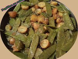 cuisiner pois gourmand recettes de pois gourmands et pomme de terre