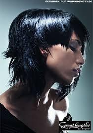 Frisuren Lange Haare Schwarz by Starke Stufen Für Halblanges Haar Schwarz Frisuren Bilder