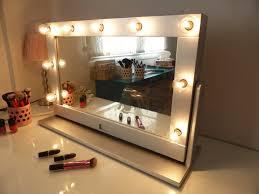Vanity Mirrors Light Bulb Vanity Mirror 63 Nice Decorating With Led Bathroom Wall