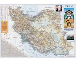 Map Of Persian Gulf Maps Of Iran Detailed Map Of Iran In English Tourist Map