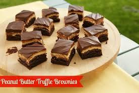 outrageous stacked peanut butter brownies recipe gooey bars