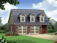 2 5 car garage plans with living space above two car garage
