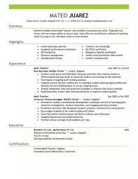 Resume Example Teacher by Free Teacher Resume Template Elementary Teacher Resume Examples