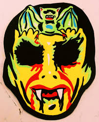 vintage halloween illustration barnabas collins vintage halloween mask by insert name youidiot on