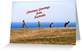 christmas greetings from australia