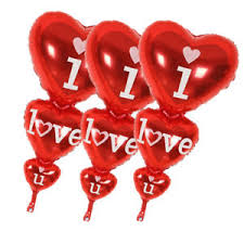 valentines day baloons 1pcs balloon big i you and happy day balloons party decoration