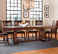 Cochrane Dining Room Furniture Hayden Rectangular Trestle Dining Table By Intercon Home Gallery