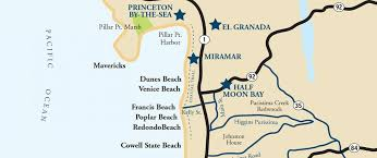 california map half moon bay conveniently located visit half moon bay
