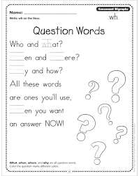 question words consonant digraphs wh phonics poetry page by