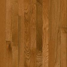 Wood Flooring Prices Home Depot Bruce Plano Oak Gunstock 3 4 In Thick X 2 1 4 In Wide X Random