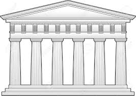 this is an outline of the parthenon a doric temple this can be