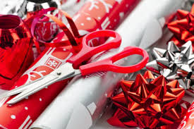 christmas gift wrap rolls saturday do it yourself gift wrapping party the daily swag