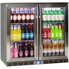 beer refrigerator glass door rhino 2 door alfresco glass door bar fridge outdoor ip34 rated