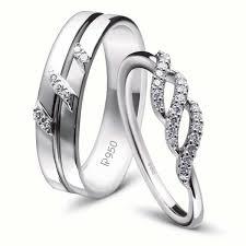platinum metal rings images Designer platinum couple rings with diamonds jl pt 452 jewelove jpg