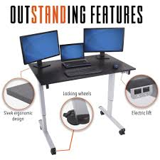 Electric Sit Stand Desk by Full Size Sit Stand Desks Stand Steady