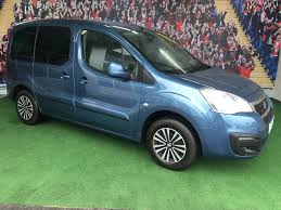 peugeot blue used peugeot partner blue hdi tepee active blue 1 6 5 door