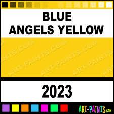 blue angels yellow international military enamel paints 2023